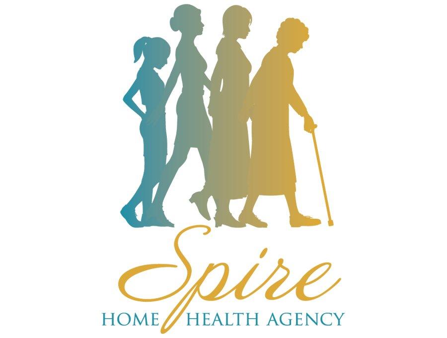 Spire Home Health Agency Logo