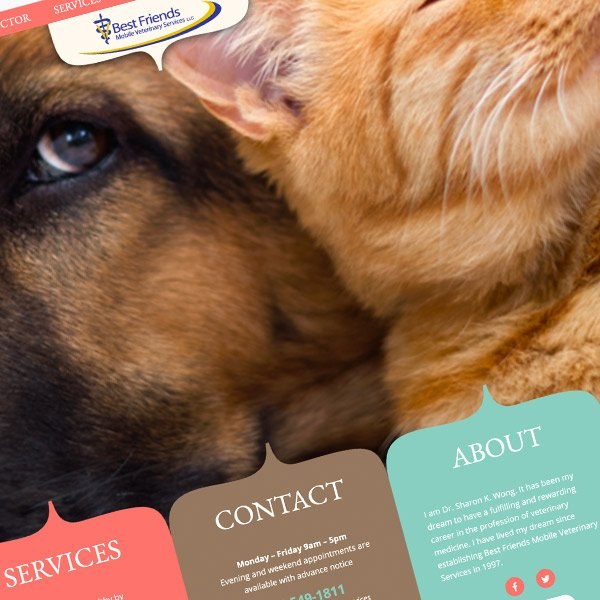 Athens Mobile Vet Responsive Wordpress Website Design