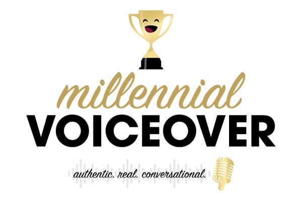 Millennial Voiceover Logo Design