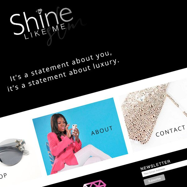 Shine Like Me Responsive Wordpress Website Design