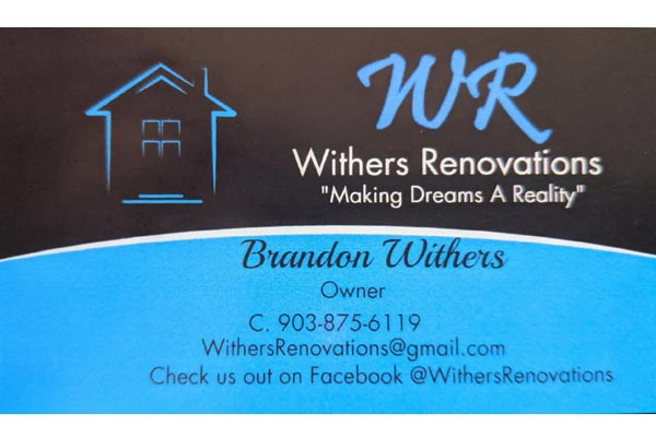 Withers Renovations Rebranding Before