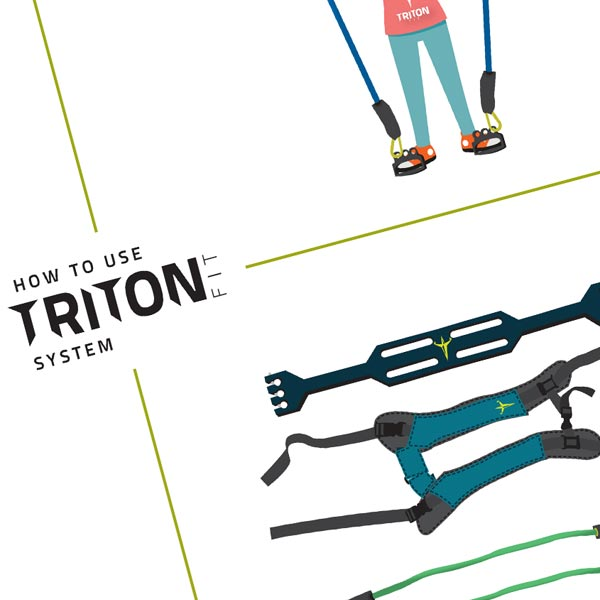 Product Illustration and Graphic Design for Triton Fit Systems